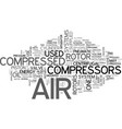 what you need to know about compressed air vector image vector image