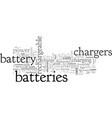 battery chargers what to look for what to avoid vector image vector image