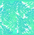 ink hand drawn botanical seamless pattern green vector image vector image