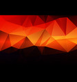 purple orange yellow red brown low poly background vector image vector image