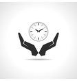 Save time concept vector image vector image
