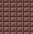 seamless pattern with chocolate texture-6 vector image vector image