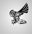 Tribal Owl vector image vector image