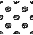 Applied mascara icon in black style isolated on vector image vector image