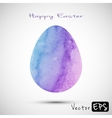 easter egg watercolor texture vector image