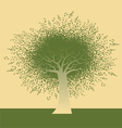 Funky Note Tree vector image vector image