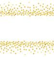 gold dots1 vector image vector image