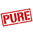 pure stamp vector image vector image