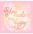 Save the date elegant wedding card vector image