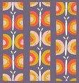 scandinavian butterfly pattern purple vector image