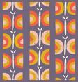 scandinavian butterfly pattern purple vector image vector image