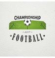 set soccer football club sport team detailed vector image vector image