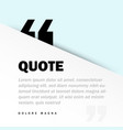 square motivation quote template background vector image