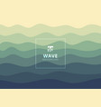 abstract wave water pattern lines background and vector image