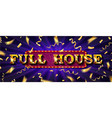 full house online poker casino vector image vector image