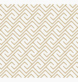 geometric seamless pattern with line modern vector image