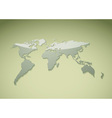 green world background vector image vector image