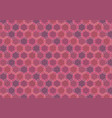 maroon looped seamless pattern vector image vector image