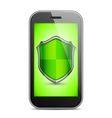 Mobile Security Concept vector image vector image