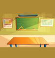 school college classroom interior vector image