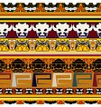 Traditional Indian pattern vector image vector image