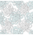 abstract seamless floral pattern sketch pastel vector image vector image