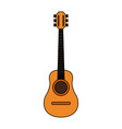 acoustic guitar icon image vector image vector image