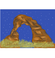 arches national park vector image