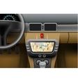 Car Navigation Syster vector image
