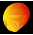 Glossy Sphere Abstract Background vector image