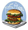 Hamburger vector | Price: 3 Credits (USD $3)