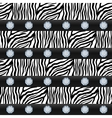 Seamless pattern Striped zebra precious stones vector image