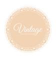 vintage beige background vector image vector image