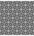 arabic seamless pattern black and white vector image