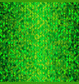 bright shimmering seamless mosaic green pattern vector image