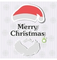 Christmas typography handwriting vector image vector image
