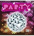 Colorful mosaic background for party vector image