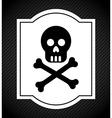 danger signal vector image vector image