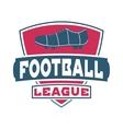 Football logo badge vector image vector image
