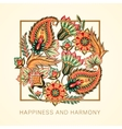 Happiness and harmony vector image