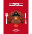 happy thanksgiving vector image vector image