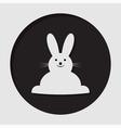 information icon - Easter bunny vector image vector image