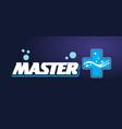 logo - text master vector image