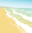 Seashore vector | Price: 1 Credit (USD $1)