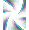 twist with mosaic vector image vector image