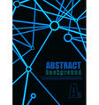 Abstract Connection Background vector image