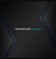 abstract futuristic and technology concept vector image vector image