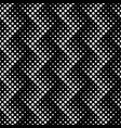 abstract geometrical black and white dot pattern vector image vector image