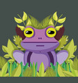 cute wildlife animals cartoons vector image