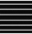 Different Metalic Bars vector image